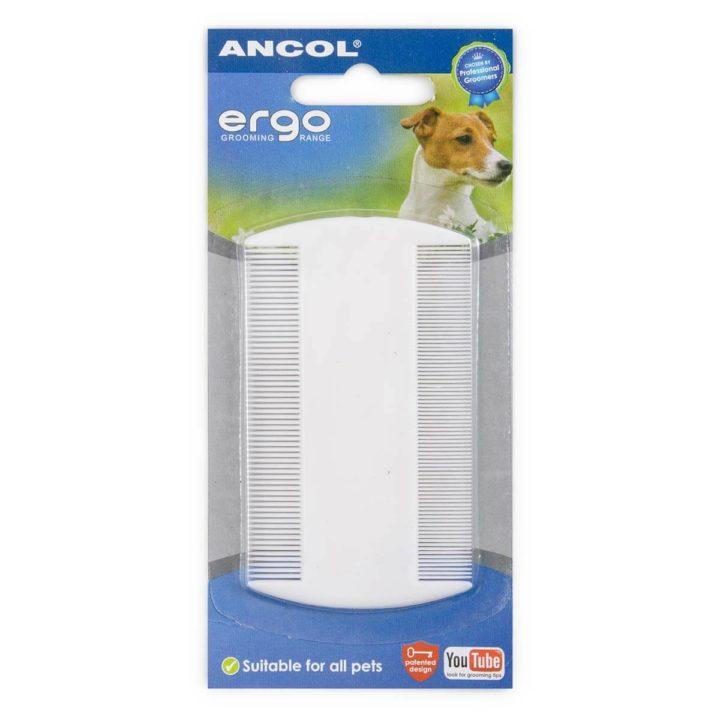 Ancol ERGO Plastic Flea Comb