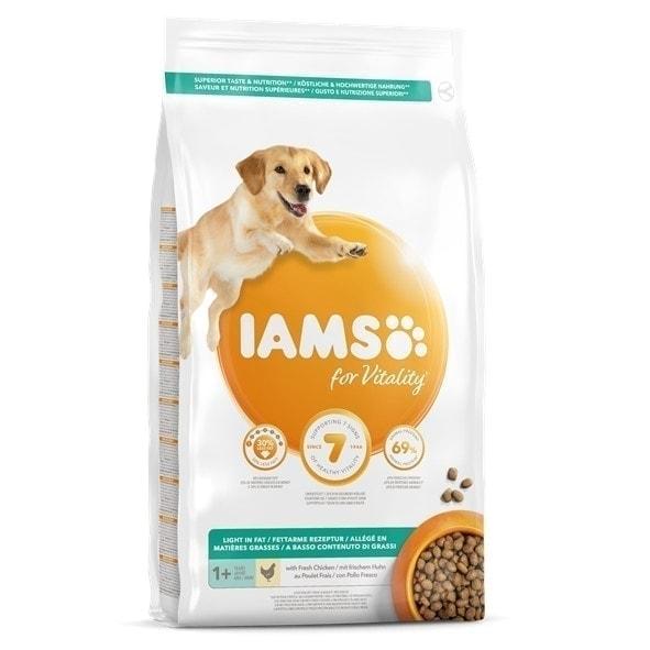 IAMS for Vitality Light in Fat Dog Food