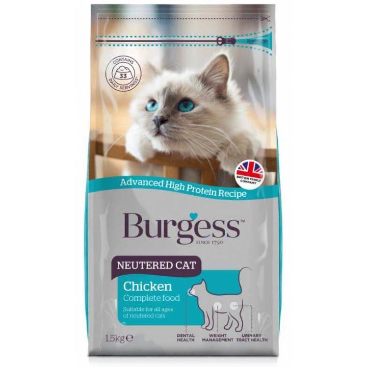 Burgess Neutered Cat Food