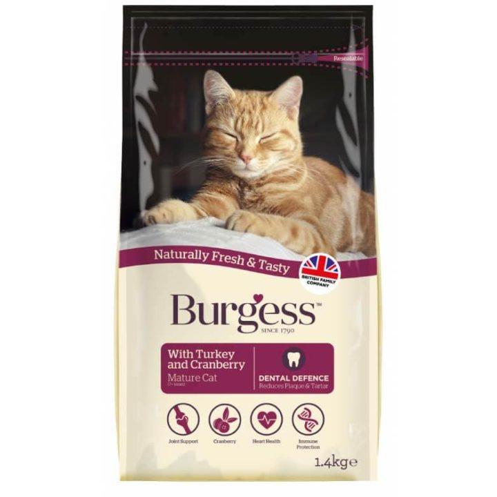 Burgess Mature Cat Food