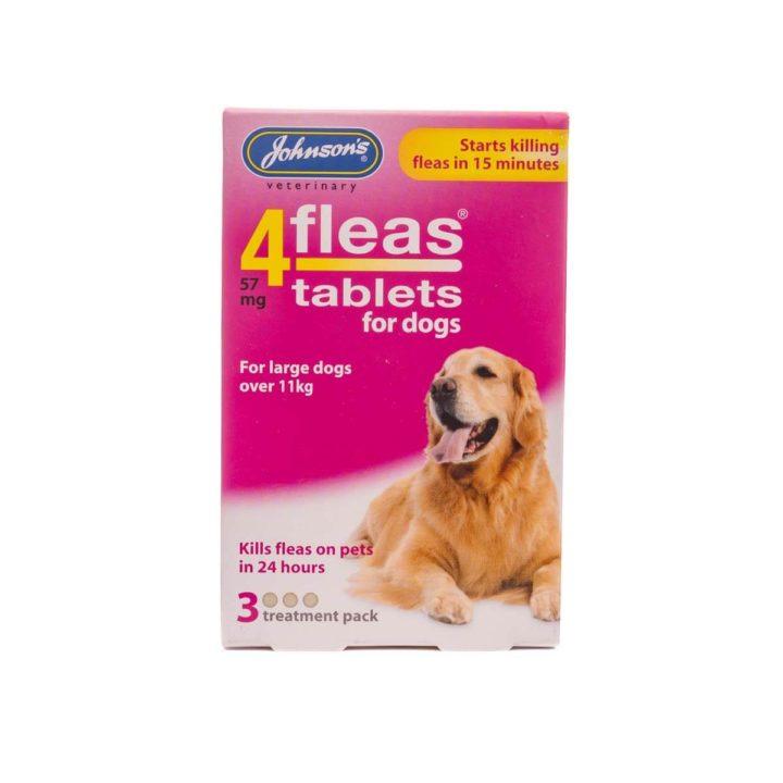 Johnsons 4Fleas Dog Tablets - 2 Varieties