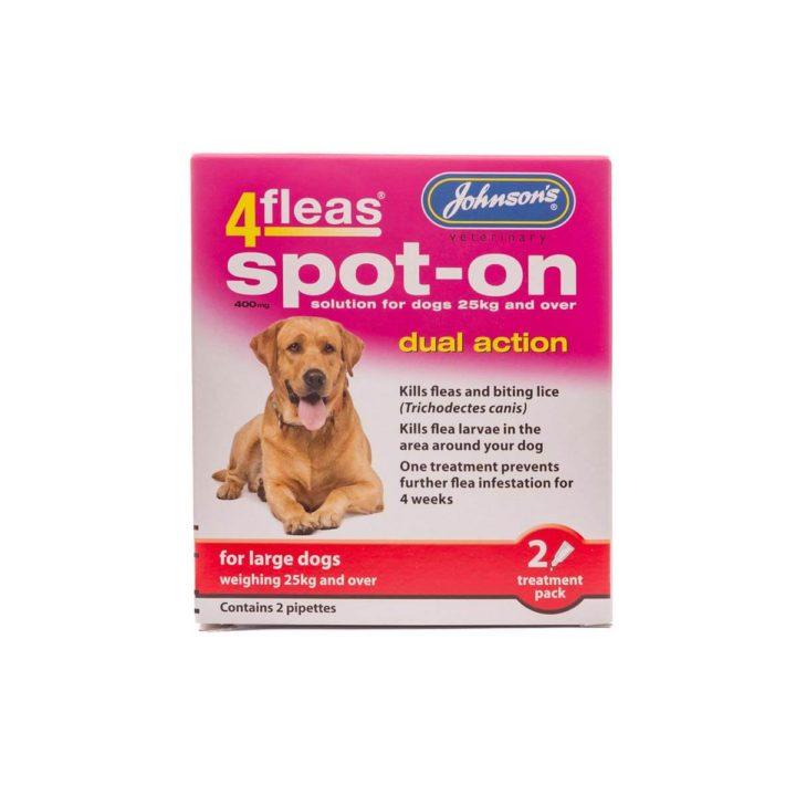 Johnsons 4Fleas Spot-on for Dogs - 4 Varieties