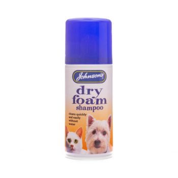 Johnsons Dry Foam Shampoo