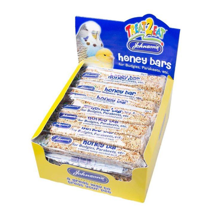 Johnsons Honey Bars for Budgies & Parakeets