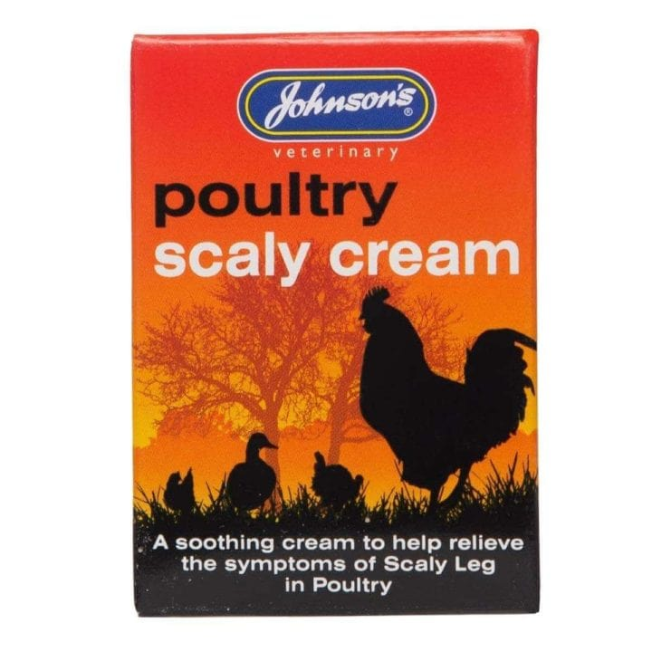 Johnsons Poultry Scaly Cream