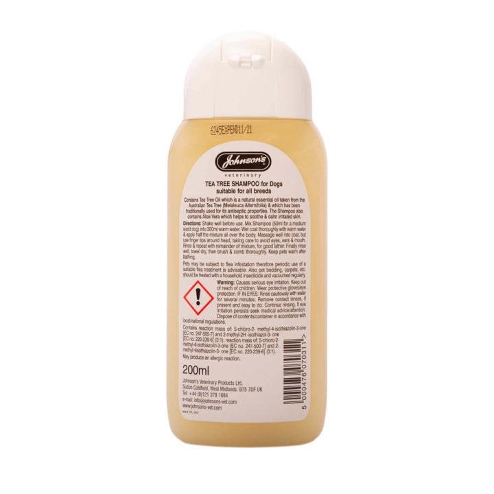 Johnsons Tea Tree Shampoo