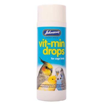 Johnsons Vit-Min Drops for Cage Birds