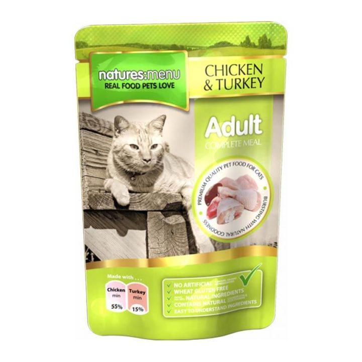 Natures Menu Adult Cat Pouches