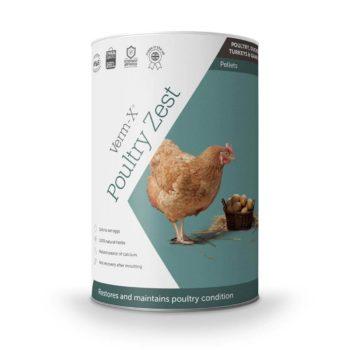 Verm-X Poultry Zest Pellets