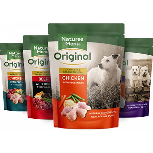 Natures Menu Adult Dog Food Pouches