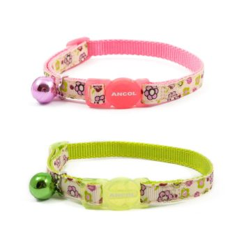 Ancol Safety Cat Collar - Flowers