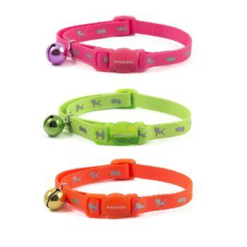 Ancol Safety Hi-Vis Cat Collar