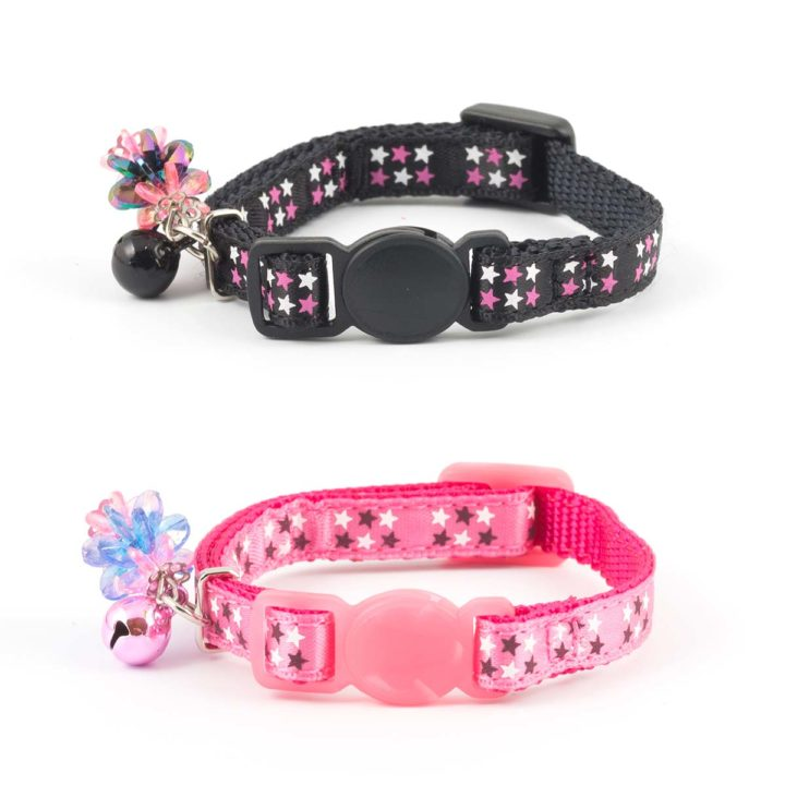 Ancol Safety Kitten Collar - Stars