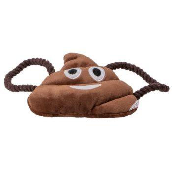"Animate Plush Poo Emoji 7"" Dog Toy"
