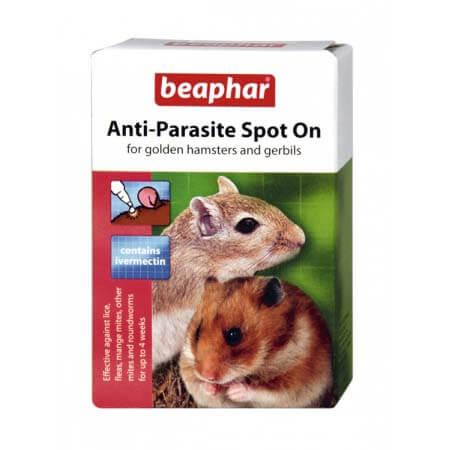 Beaphar Anti-Parasite Spot On for Golden Hamsters & Gerbils
