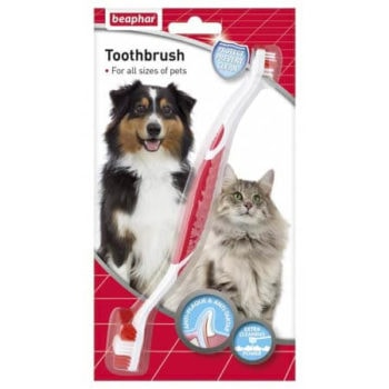 Beaphar Toothbrush for Cats and Dogs