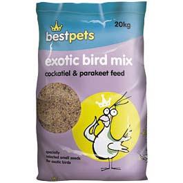 Bestpets Cockatiel & Parakeet Exotic Bird Mix