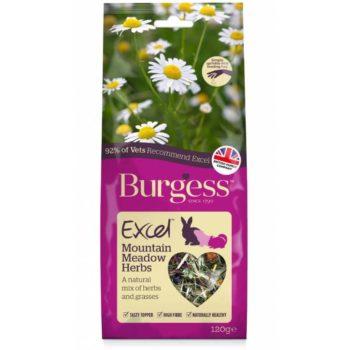 Burgess Excel Snacks Mountain Meadow Herbs