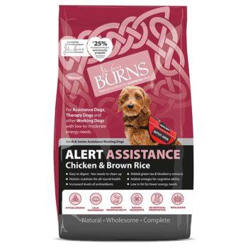 Burns Alert Assistance Dog Food