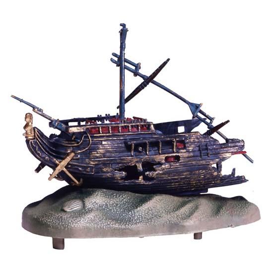 Action-Air Rocking Shipwreck Aquarium Ornament