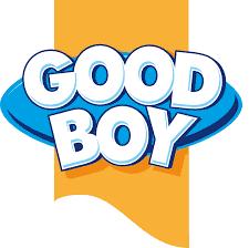 Good Boy Squeaky Face Ball Toy