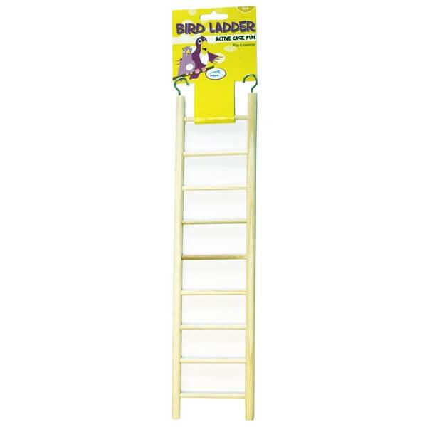 Happy Pet Wooden Bird Ladder