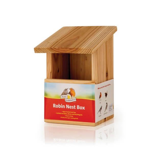 Harrisons Wooden Robin Nest Box