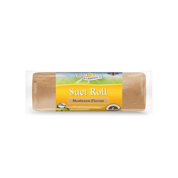 Harrisons Suet Roll with Mealworms