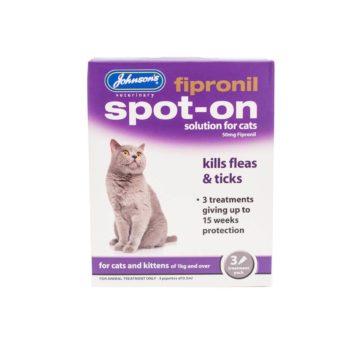 Johnsons Fipronil Spot-on for Cats