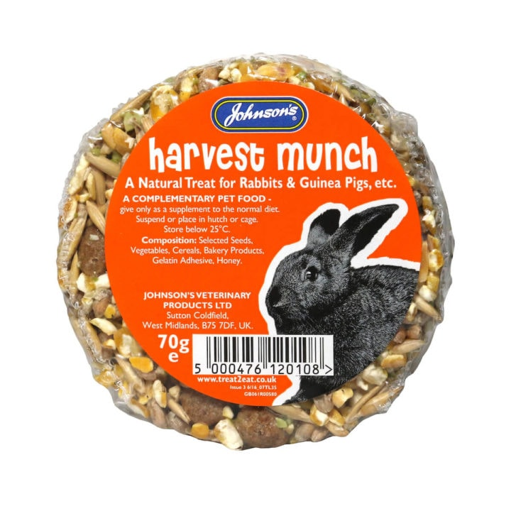 Johnsons Harvest Munch for Rabbits and Guinea Pigs