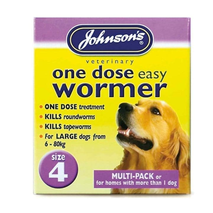 Johnsons One Dose Easy Wormer - 4 Sizes