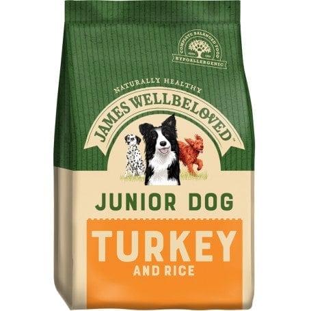 James Wellbeloved Puppy & Junior Dog Food