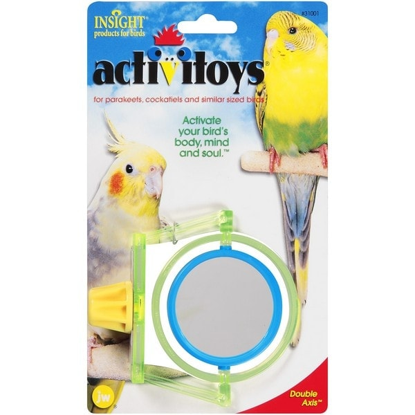 JW Bird Toy Activitoy Double Axis