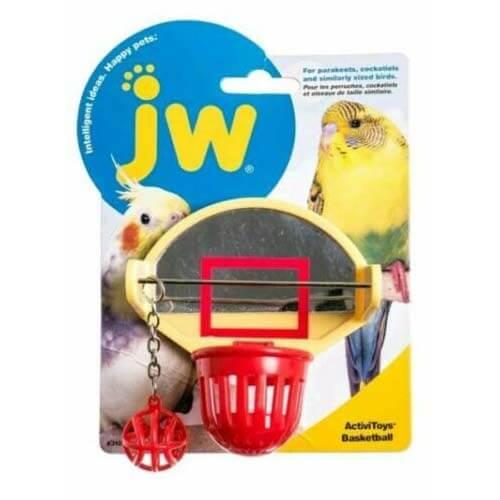 JW Bird Toy - Birdie Basket Ball