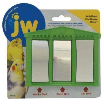 JW Bird Toy - Fun House Mirror