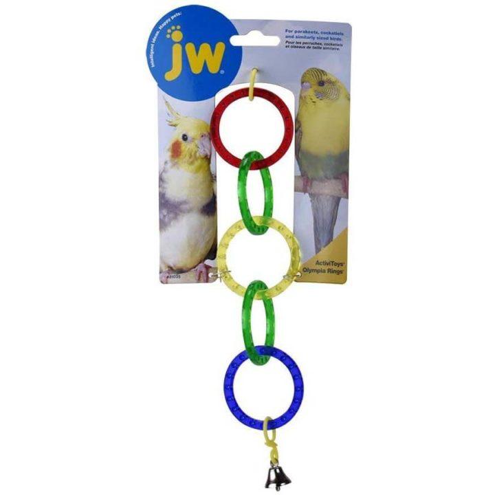 JW Bird Toy - Olympia Rings
