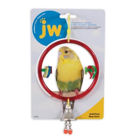 JW Bird Toy - Ring Clear