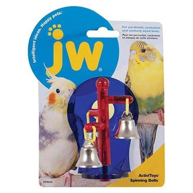 JW Bird Toy - Spinning Bells