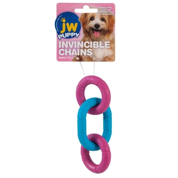 JW Invincible Chains Puppy Toy