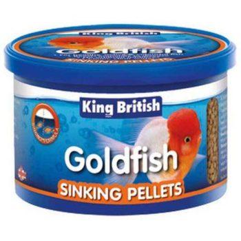 King British Goldfish Sinking Pellets
