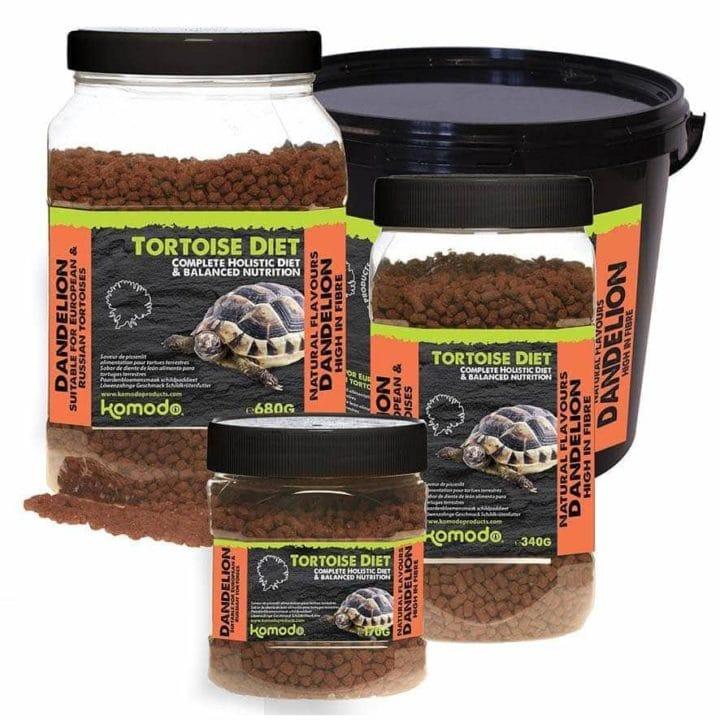 Komodo Dandelion Flavour Tortoise Diet