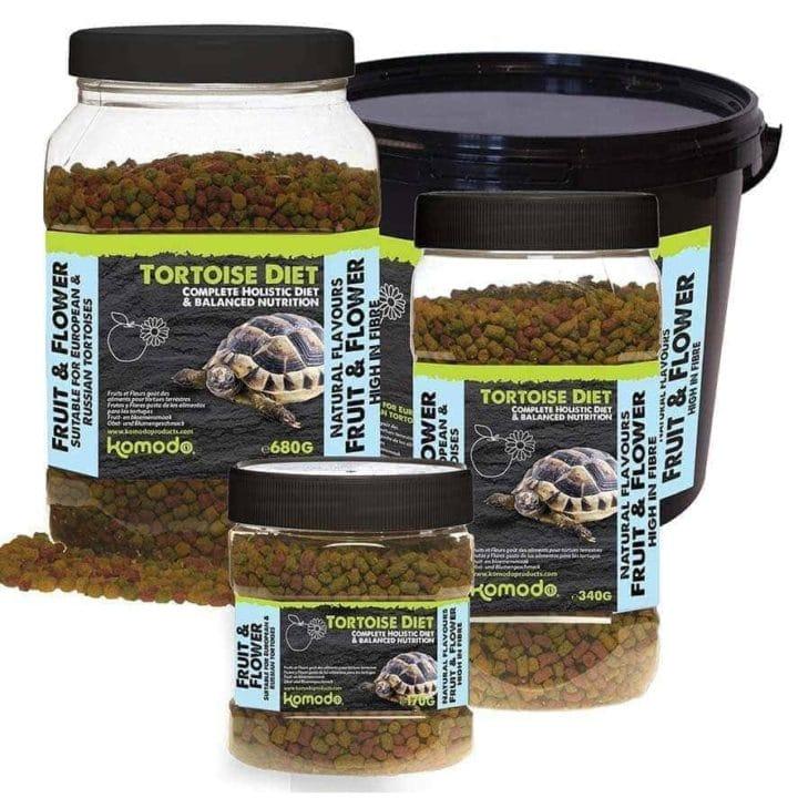 Komodo Fruit & Flower Flavour Tortoise Diet