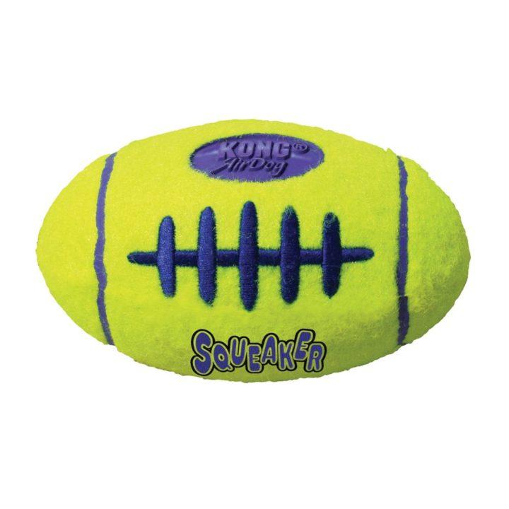 KONG® AirDog Squeaker Football - 2 Sizes
