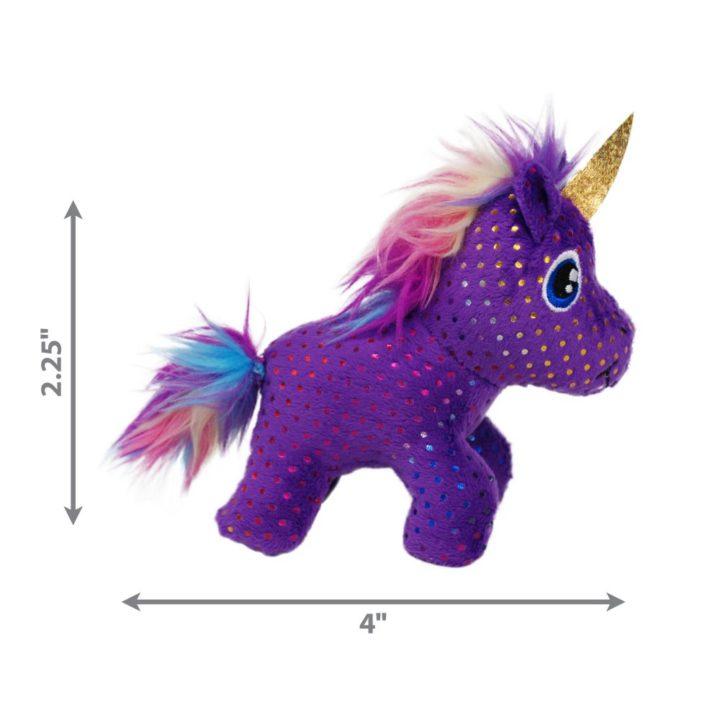 KONG® Enchanted Buzzy Unicorn