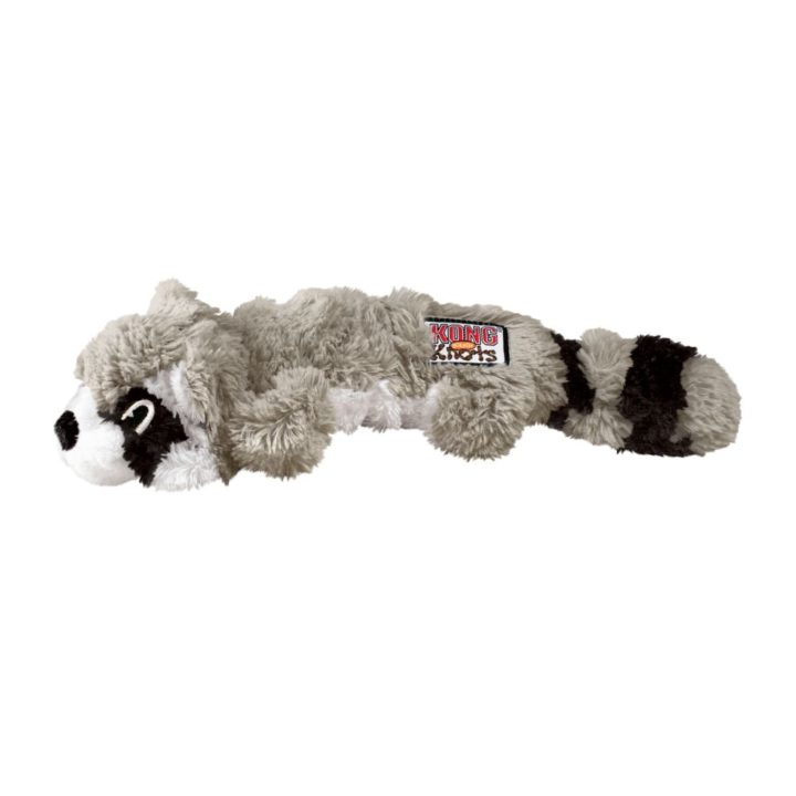 KONG® Scrunch Knots Raccoon