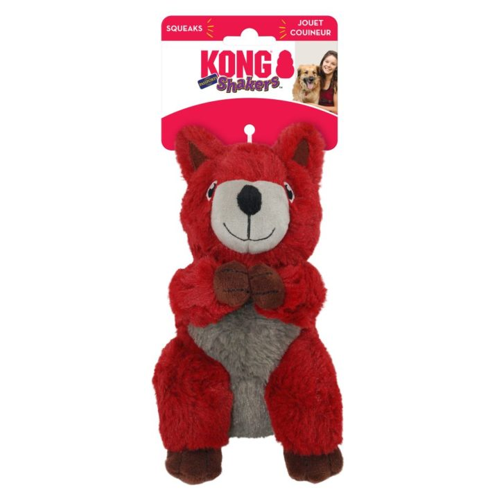 KONG® Shakers™ Passports Red Squirrel
