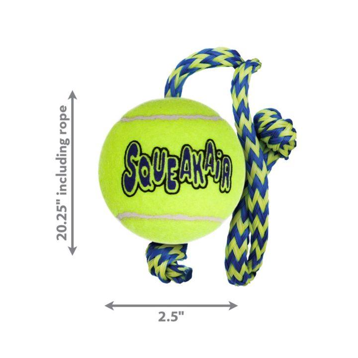 KONG® SqueakAir® Ball with Rope