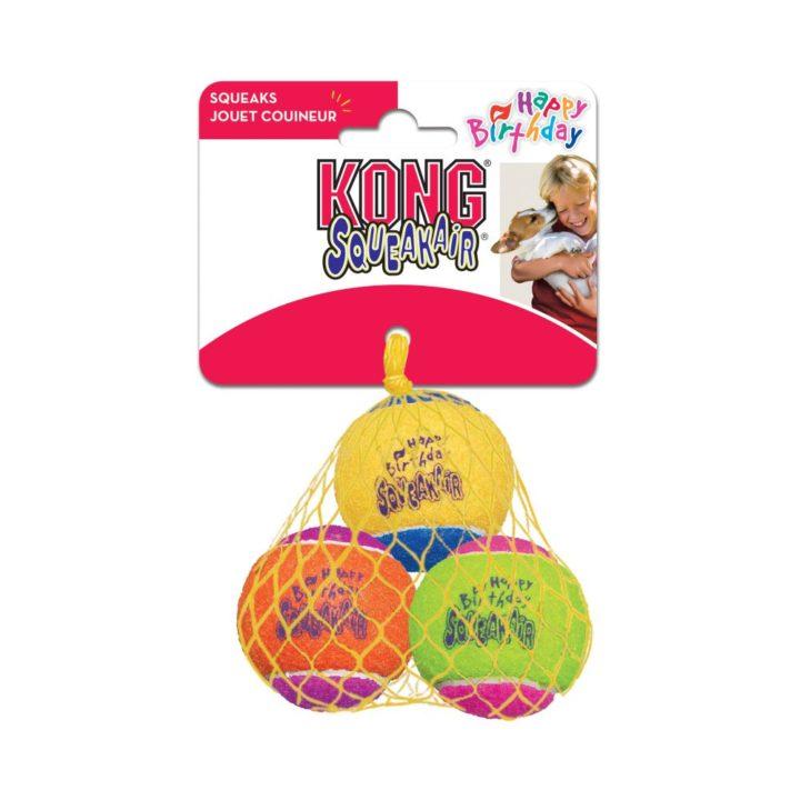 KONG® SqueakAir® Birthday Balls