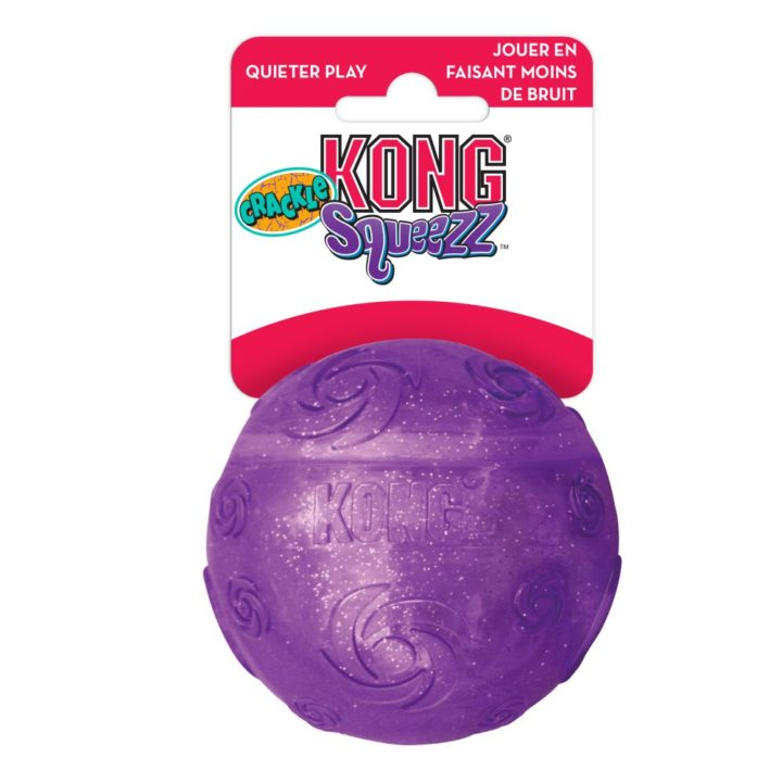 KONG® Squeezz® Crackle Ball Large