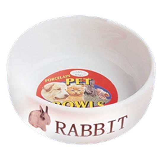 Lazy Bones Porcelain Rabbit Bowl